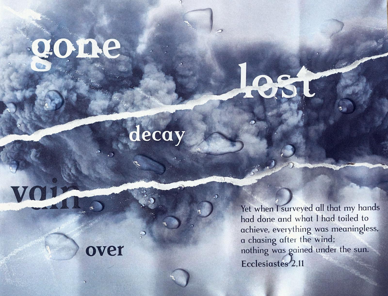 Poster – Ecclesiastes 2,11